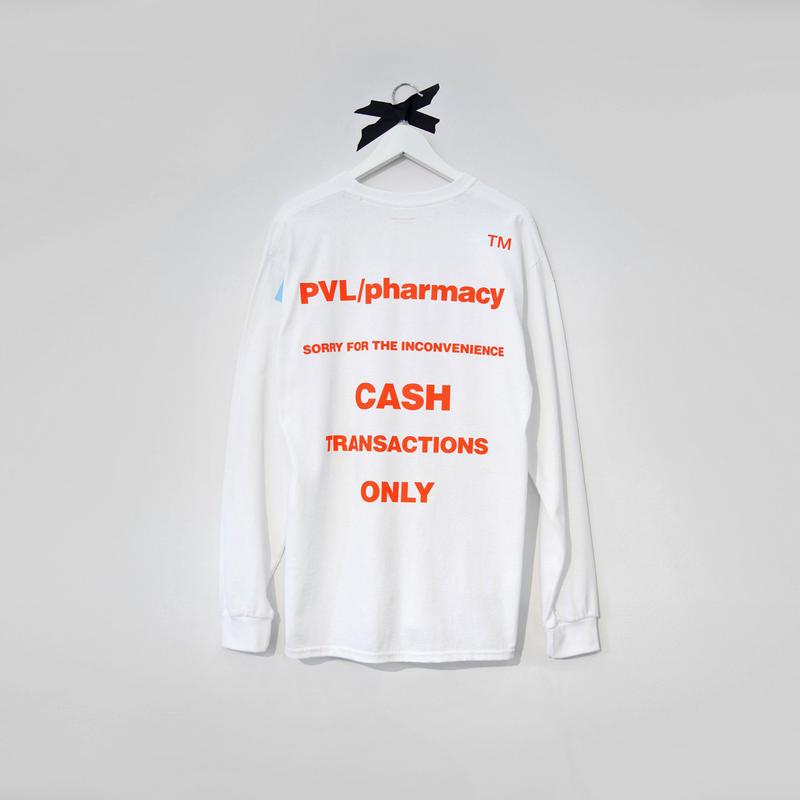 PHARMACY LS TEE (WHITE)