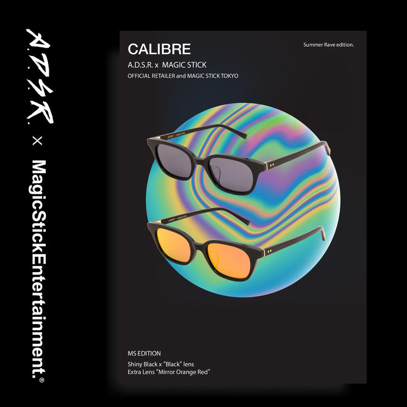 CALIBRE by A.D.S.R. feat,MAGIC STICKSummer Rave edition. (Shiny Black )