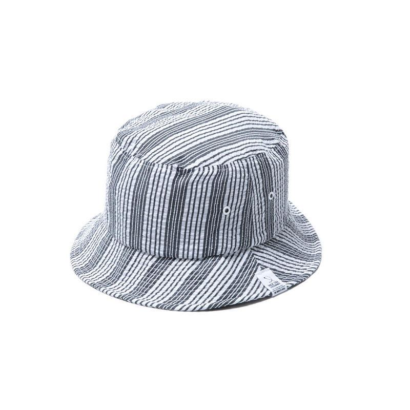 SEER SUCKER BUCKET HAT