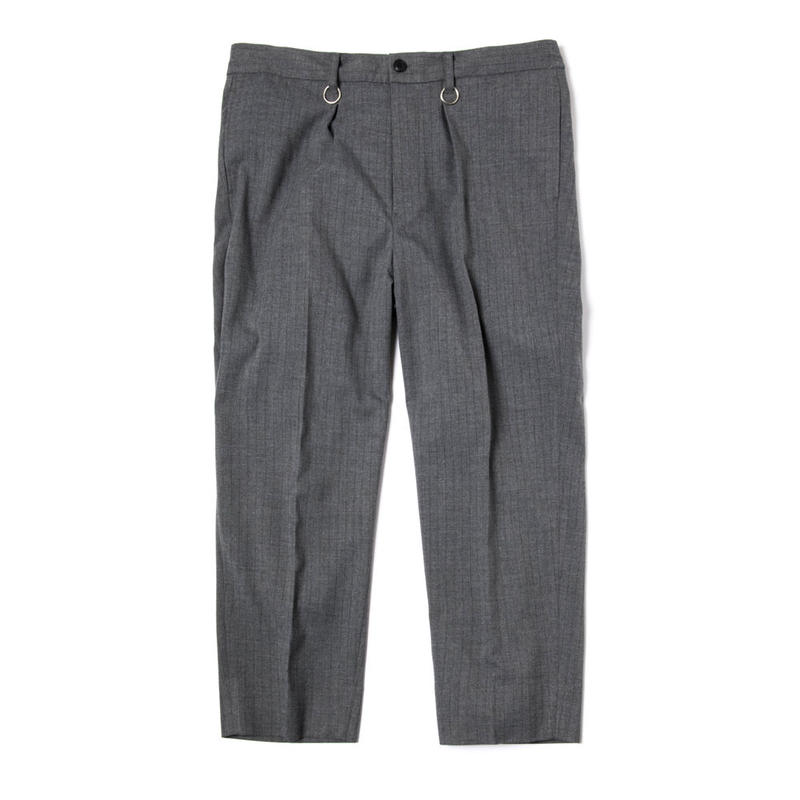 LUX WORKERS TROUSERS (GREY STRIPES)