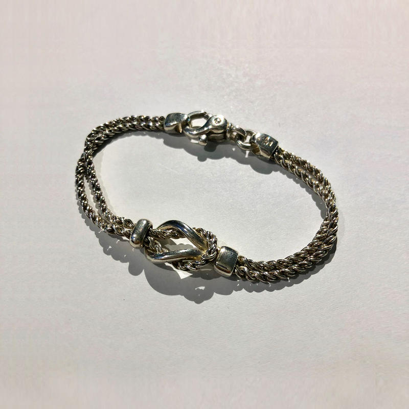 Tiffany / Double rope bracelet