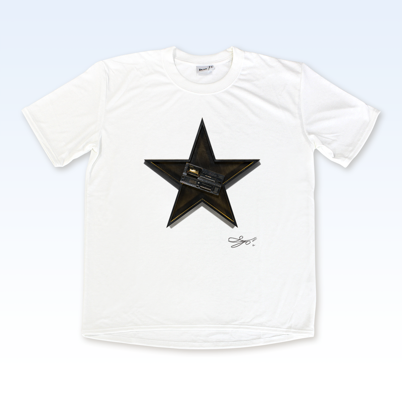 MAGO×BRING T-shirt【The Plastic BoyBroken Music Player In The Black Star】