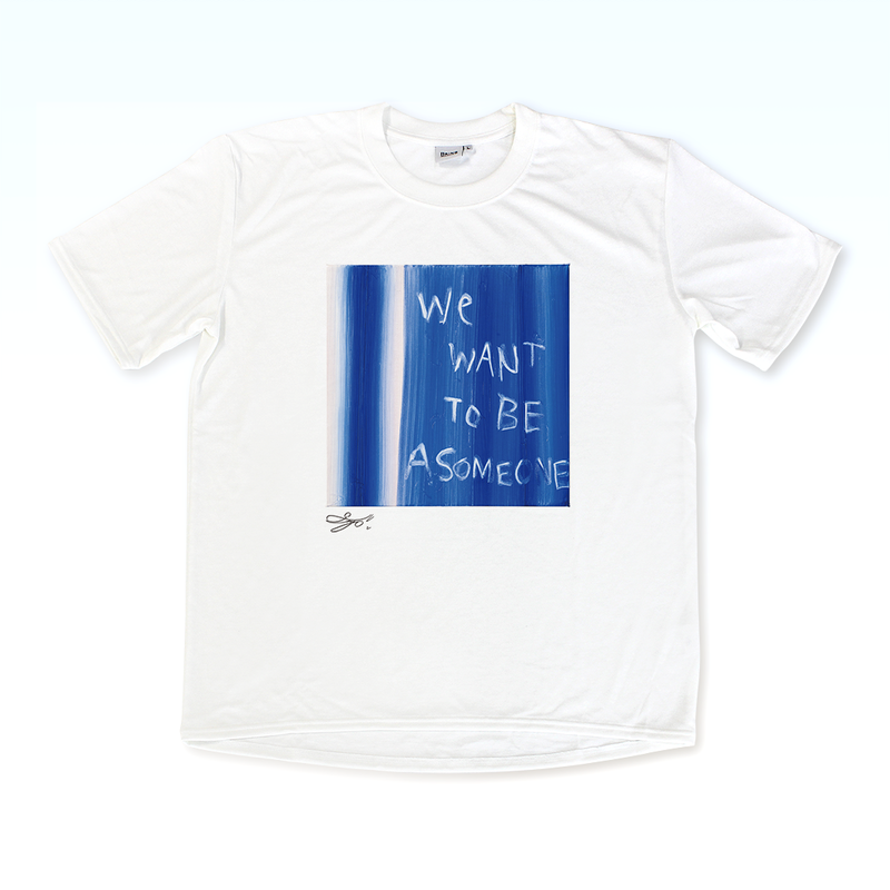 MAGO×BRING T-shirt【We want to be a some one】