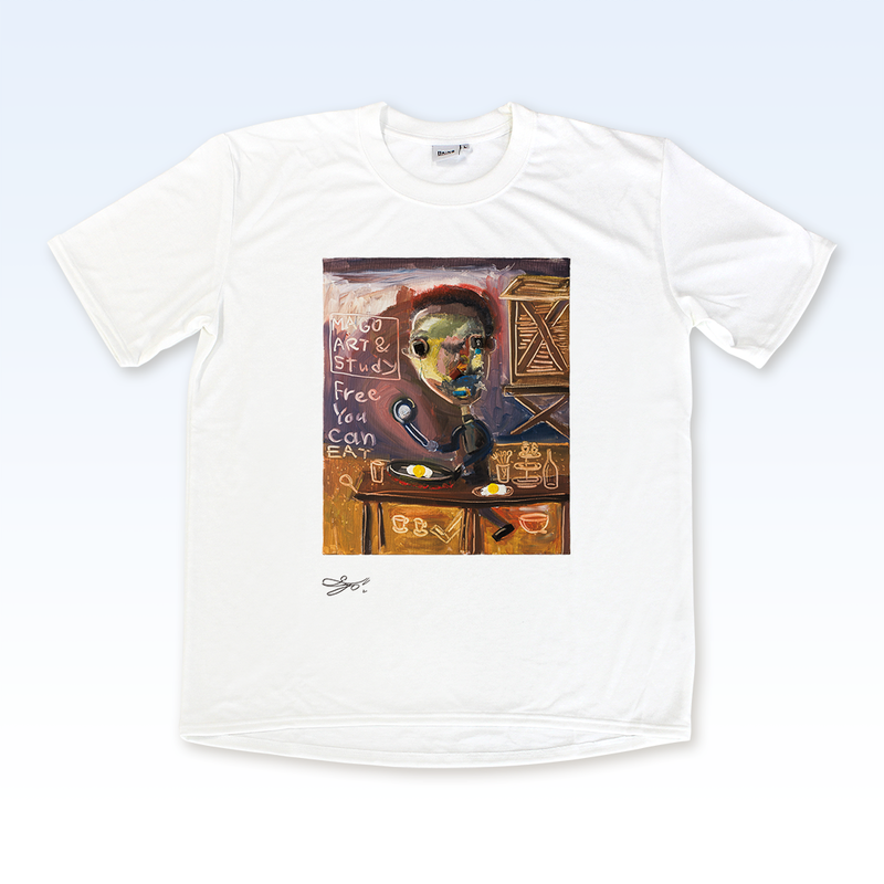 MAGO×BRING T-shirt【THE OUT SIDE CAFÉ】