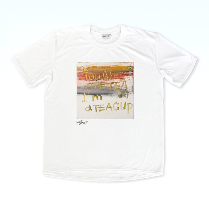 MAGO×BRING T-shirt【I'm a TEA CUP】