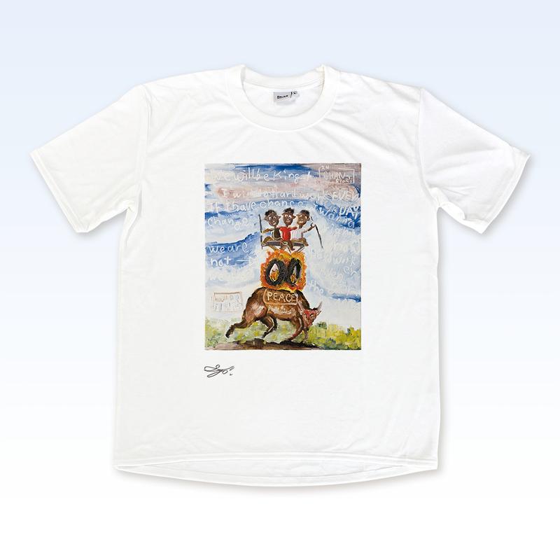 MAGO×BRING T-shirt【OUR FRIEND SHIP】