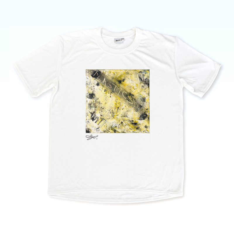 MAGO×BRING T-shirt【Title of plastic smile】
