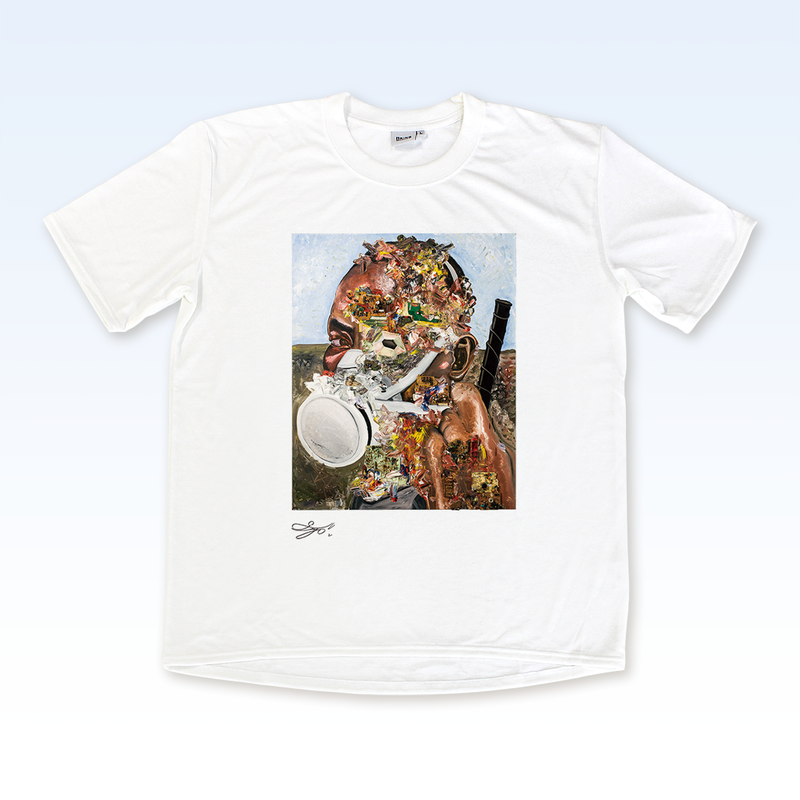MAGO×BRING T-shirt【プラスチック化する青年】