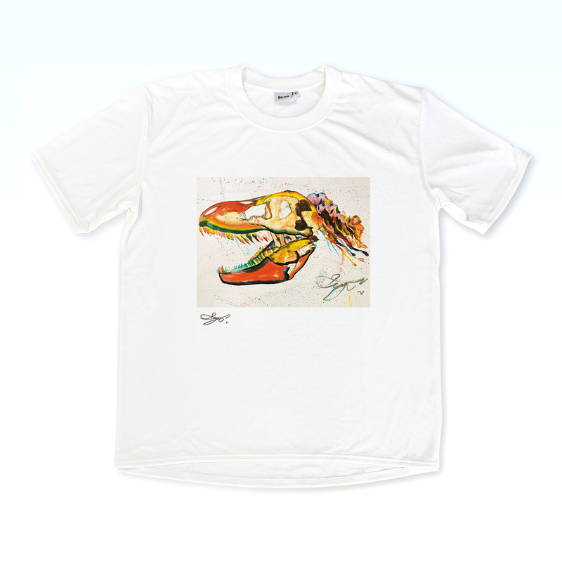 MAGO×BRING T-shirt【The colorful dinosaur】