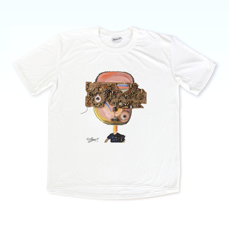 MAGO×BRING T-shirt 【Agbogbloshie Boy】