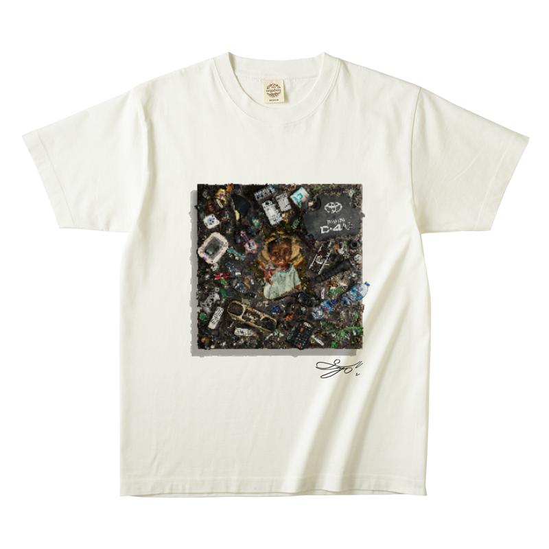 MAGO×FELIC オーガニックTシャツ6 【Abidu In The Ghana's Grand】