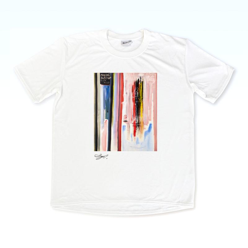 MAGO×BRING T-shirt【Morning Bus Stop】