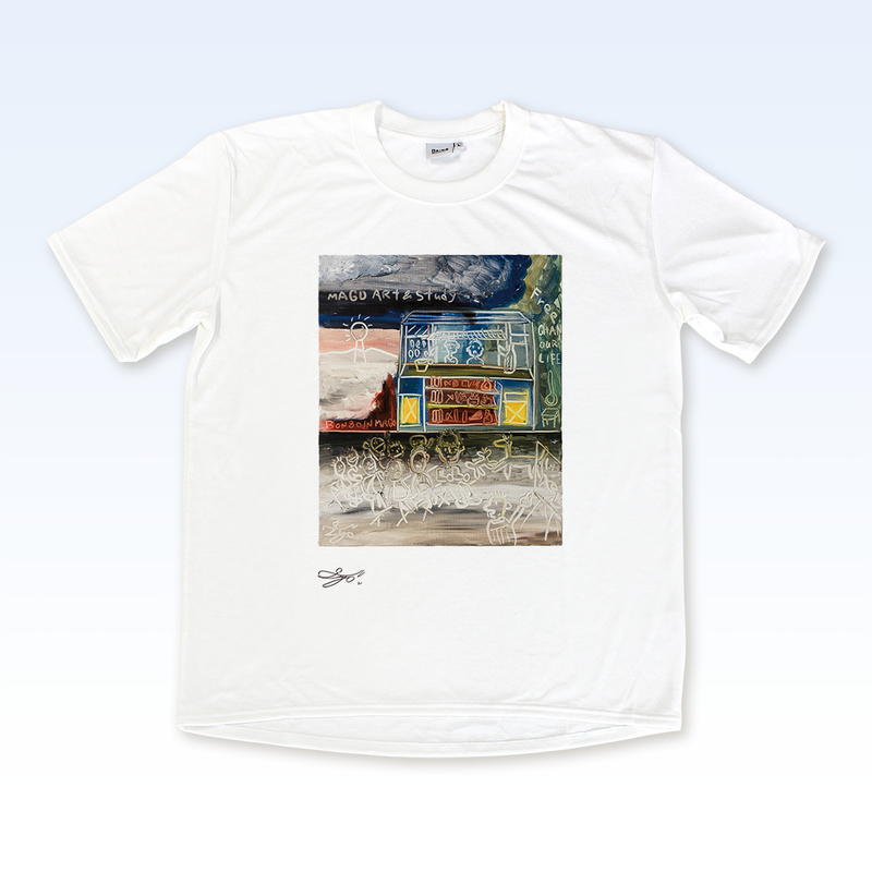 MAGO×BRING T-shirt【THE OUT SIDE SCHOOL】