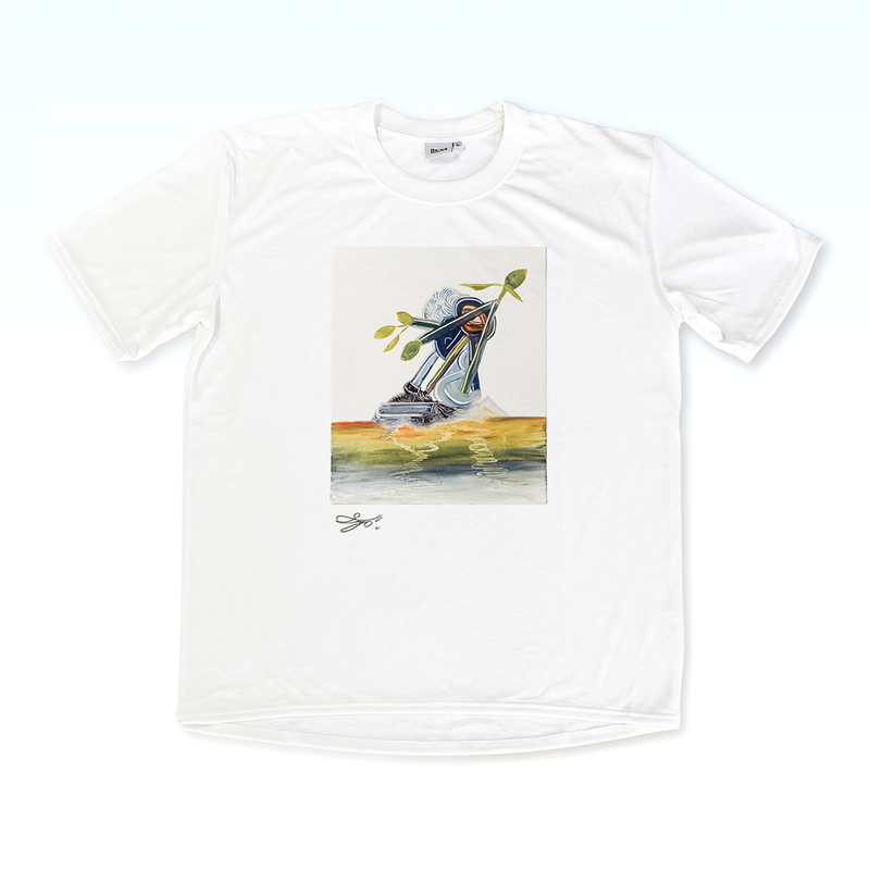 MAGO×BRING T-shirt【Plastic Snails】