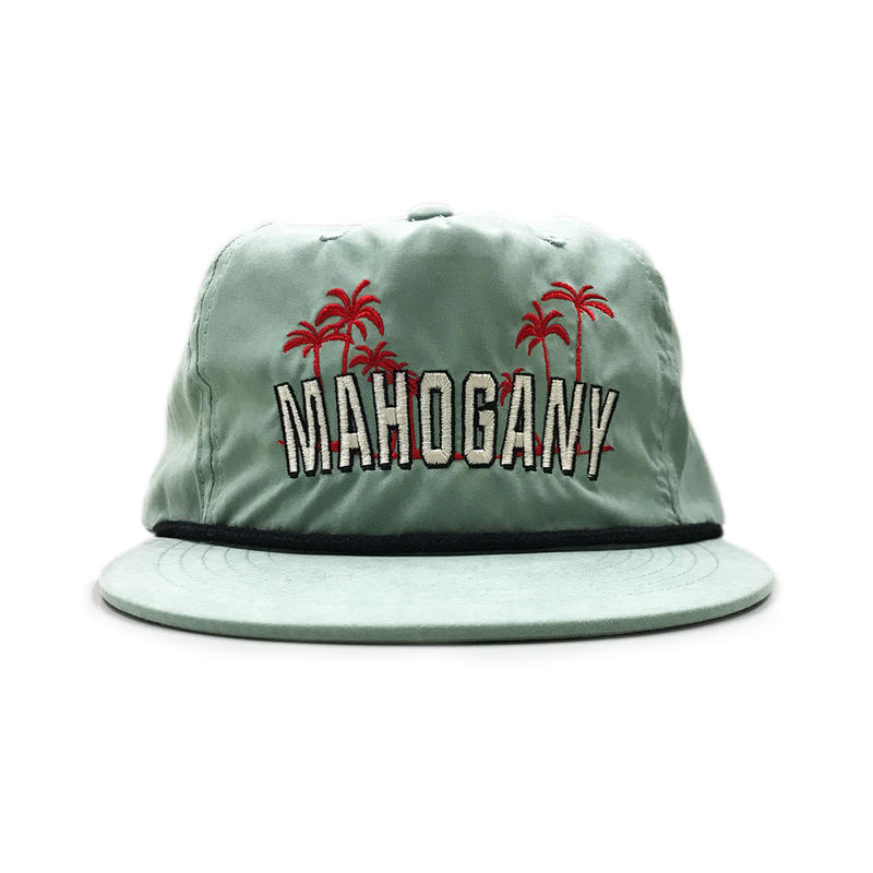 5PANEL NYLON BEACH CAP (CYPRESS GREEN)
