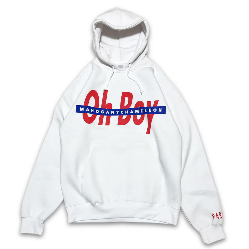 """Oh Boy"" SWEAT PARKER (WHITE)"