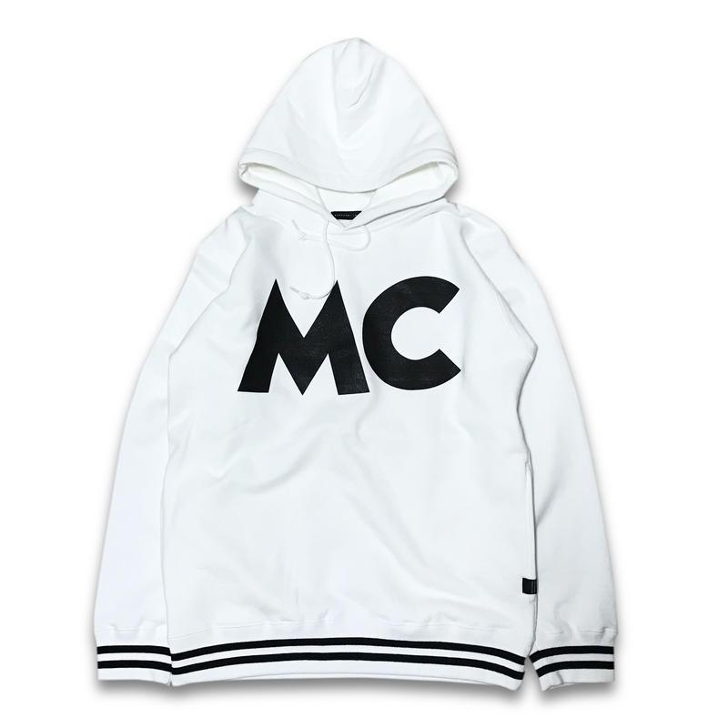 """""""MC OLDSCHOOL"""" HOODIE (WHITE)"""