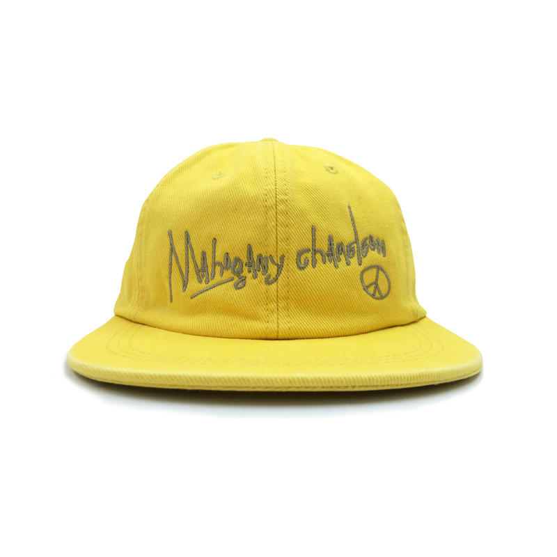 """MC OLDSCHOOL "" B.B. CAP (YELLOW)"