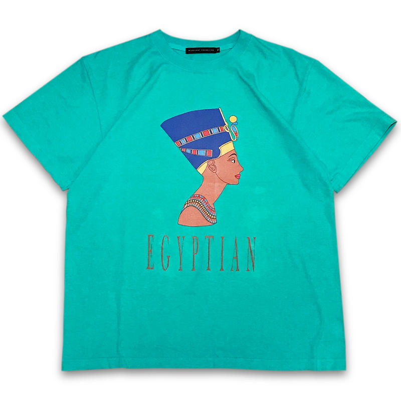 """Queen Nefertiti"" T-SHIRTS (GREEN)"