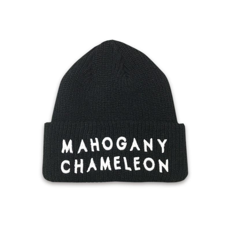 """""""MAHOGANY"""" BEANIE (BLACK)"""