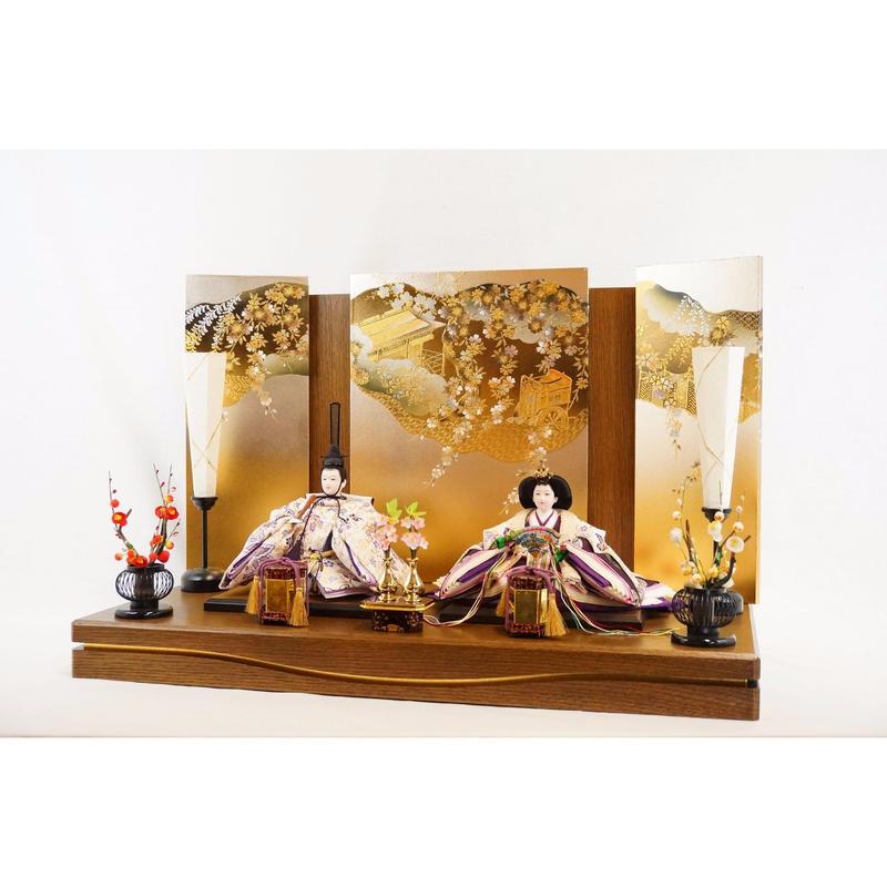 凛皇平飾り 西陣織 金襴 [Rio-80st-br-y661]