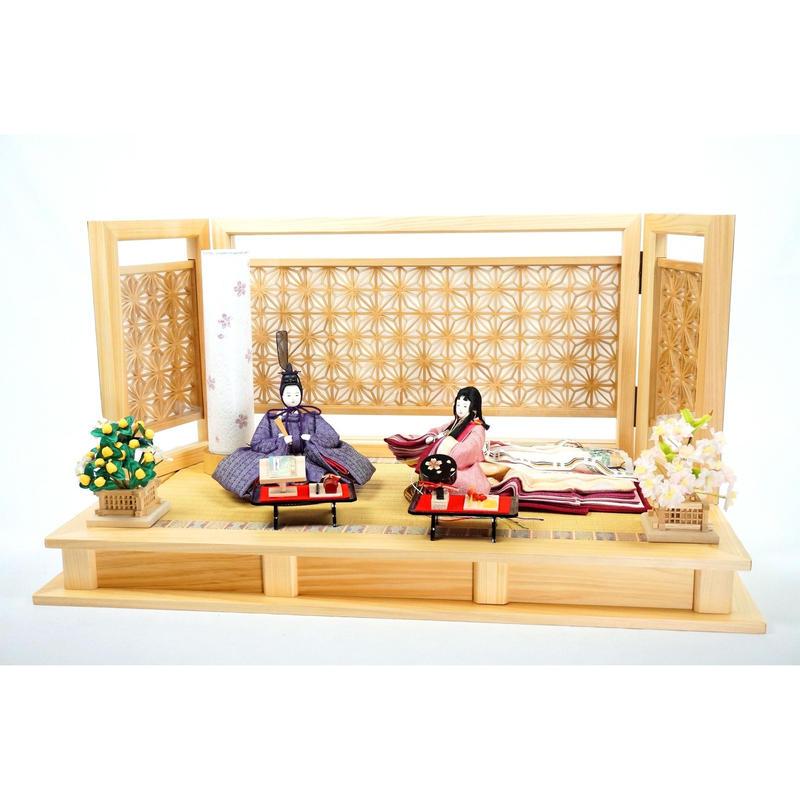 京洛庵平飾り 麻の葉 [KRN60-WO-4251]