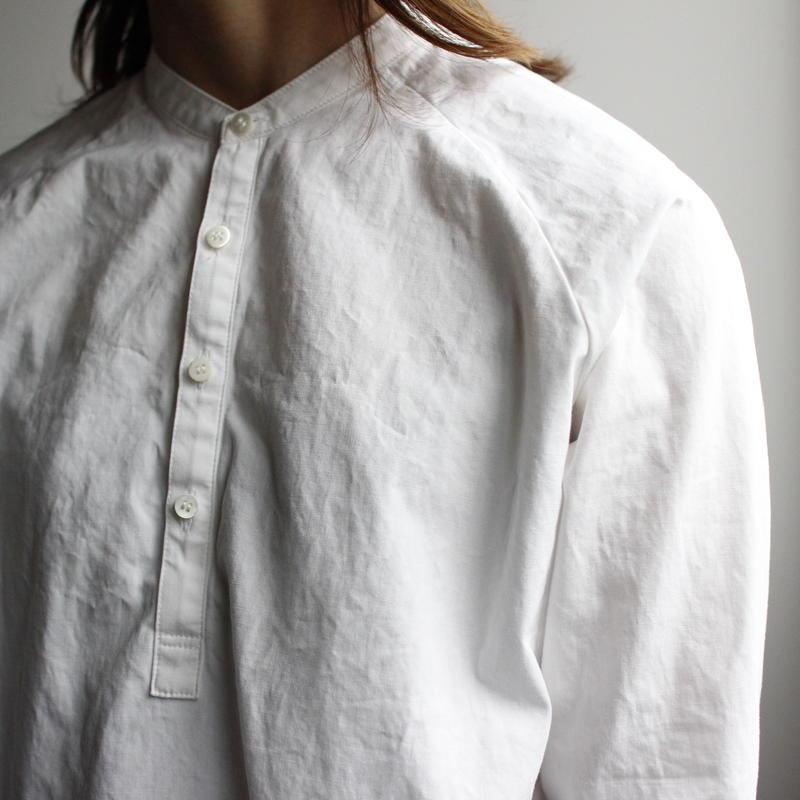 weather cloth shirt/white