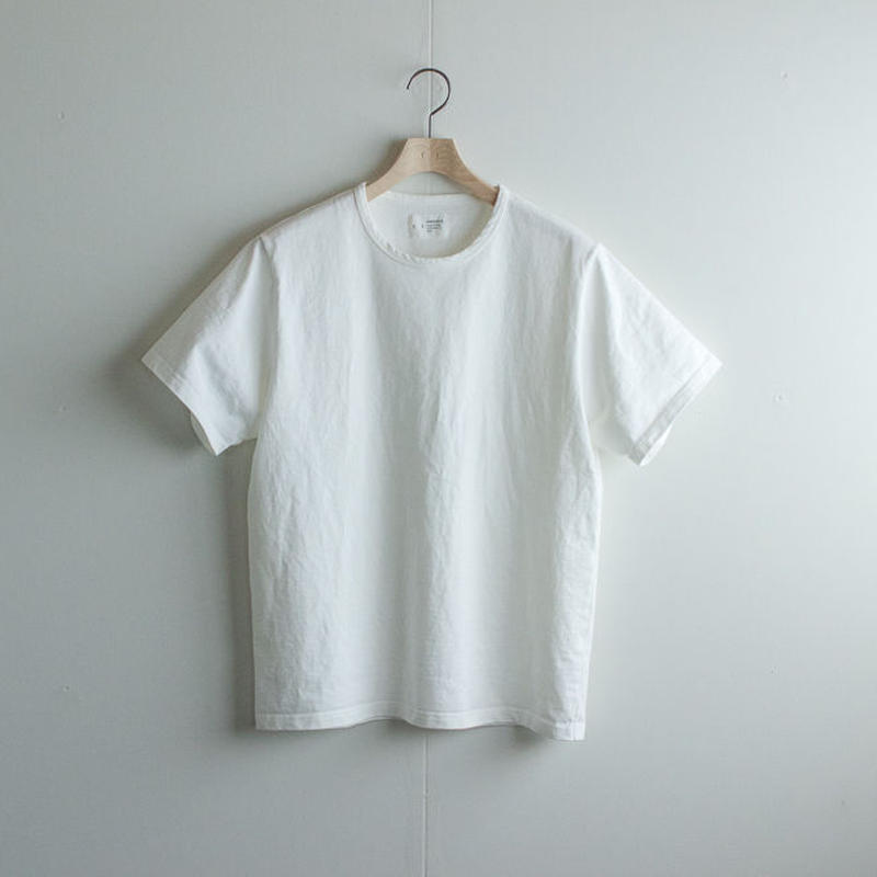 pablo cotton/crew t-shirt/white/size 00・0・1