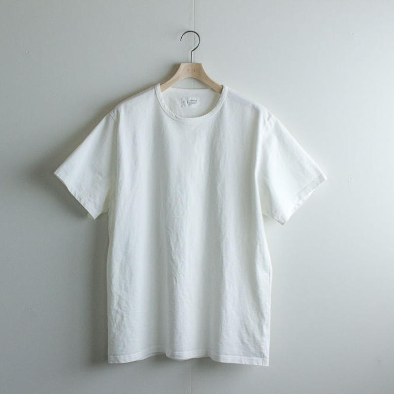 pablo cotton/crew binder t-shirt/white/size 2・3・4
