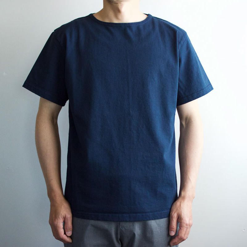 pablo cotton/center back tshirt / indigo blue/size3
