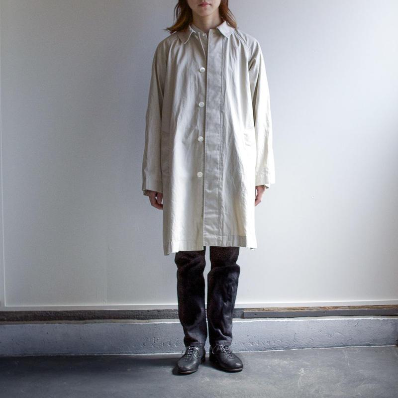 soutien collar coat/beige