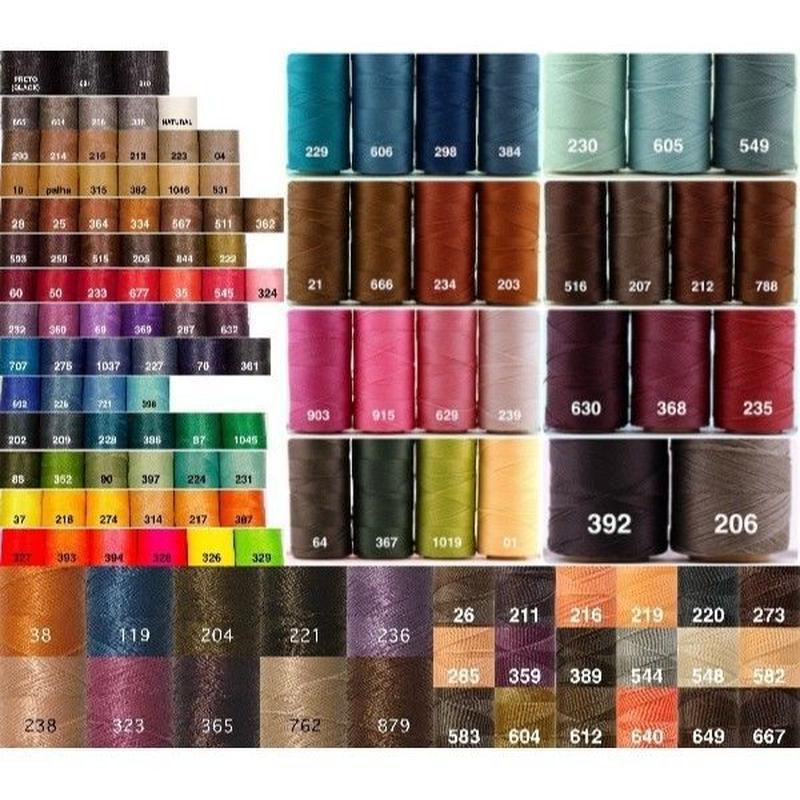 <<購入予約>><数量限定0.75mm136色セット>Linhasita社製ワックスコード0.75mm(ロウビキ紐・蝋引き紐 ・waxcord)