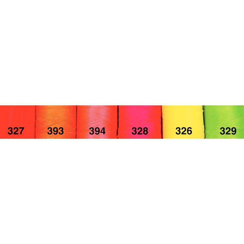 <136色・蛍光色系>Linhasita社製ワックスコード0.75mm(ロウビキ紐・蝋引き紐 ・waxcord)