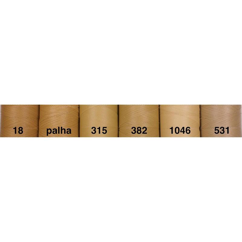 <136色・茶ベージュ系>Linhasita社製ワックスコード0.75mm(ロウビキ紐・蝋引き紐 ・waxcord)