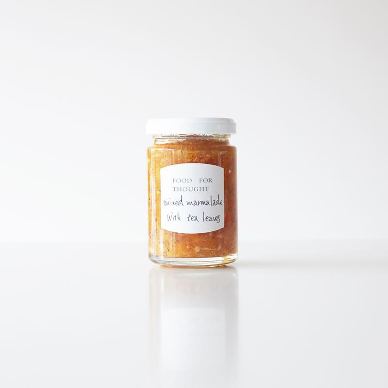 5月の瓶詰め「ミックスママレード+紅茶」