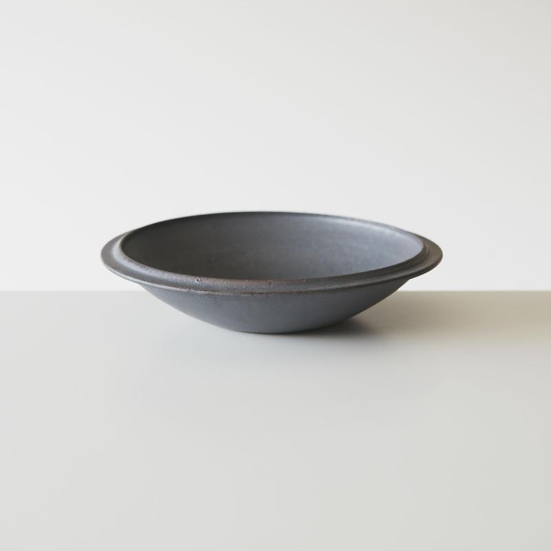 深皿 黒 25  / 船串篤司