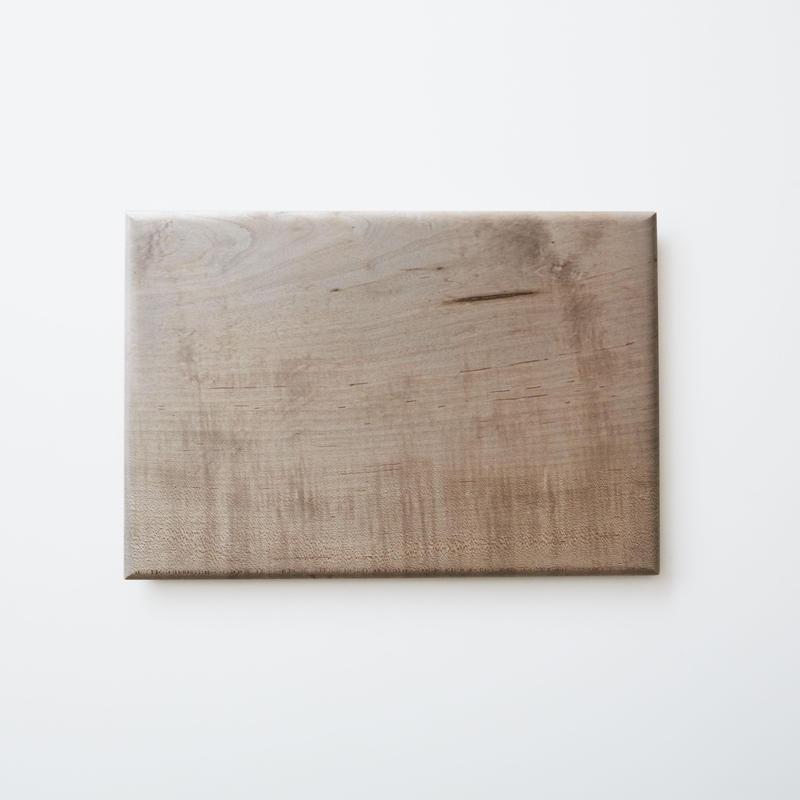 板皿32.5cm (イタヤカエデ / 鉄媒染) 内田悠