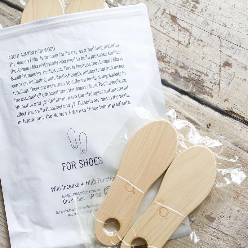 Cul de Sac-JAPON / 靴用消臭・抗菌除湿材/FOR SHOES