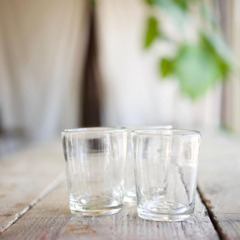 奥原ガラス / 3半コップ