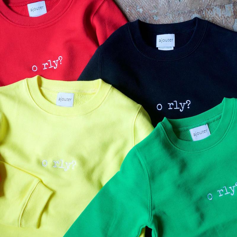 <Kids> ajouter OriginalSweatshirts / o rly?