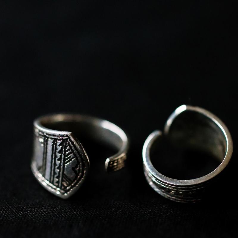 <再入荷> Touareg Silver Ring /06