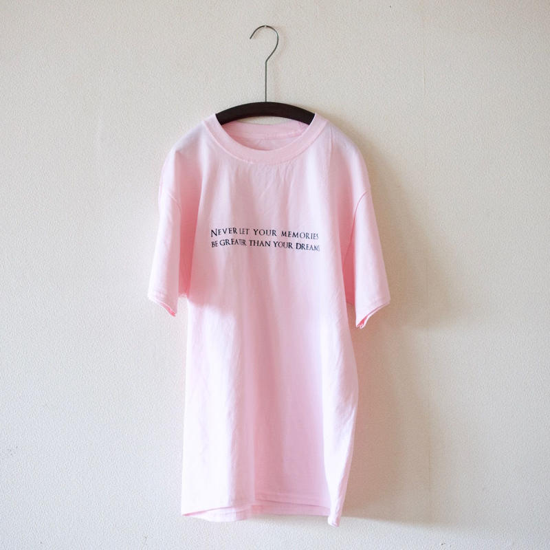 ajouter Original Tee / NEVER LET・・・ (HANES BEEF BODY) / ペールピンク