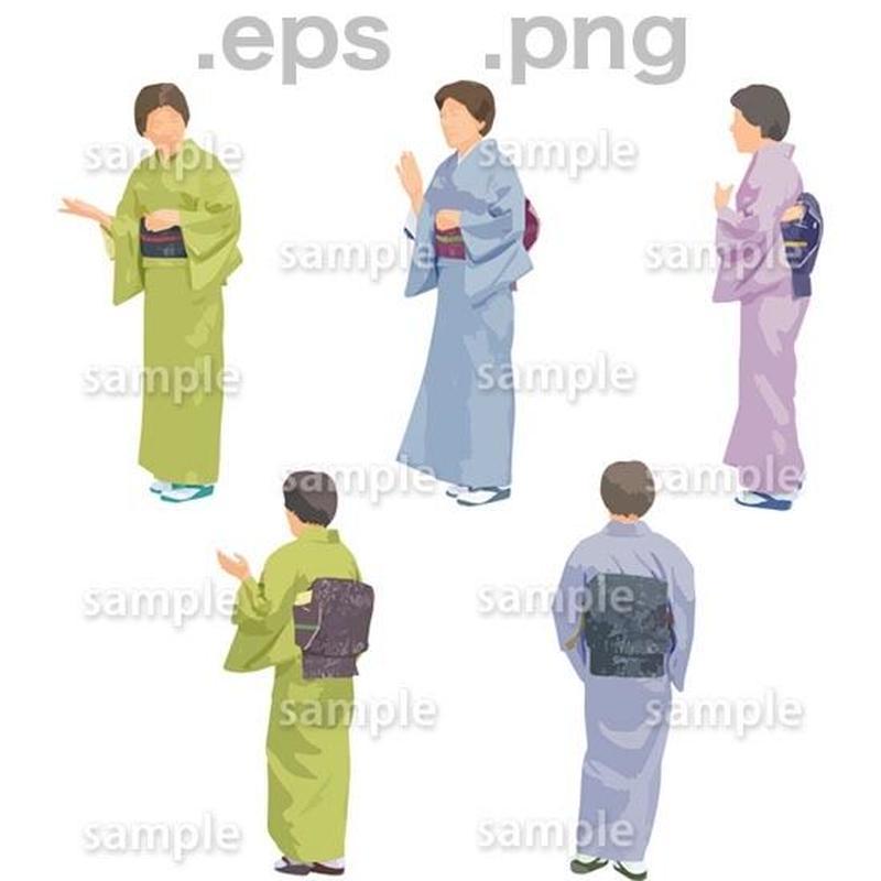 シニアイラスト (EPS , PNG )   se_150