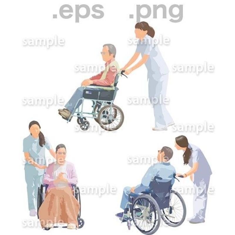 シニアイラスト (EPS , PNG )   se_215