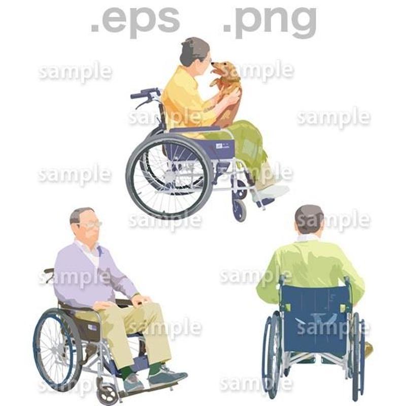 シニアイラスト (EPS , PNG )   se_224