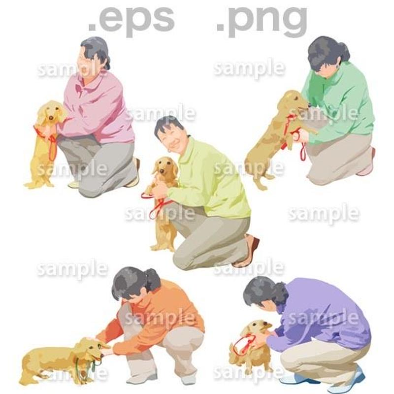 シニアイラスト (EPS , PNG )   se_187
