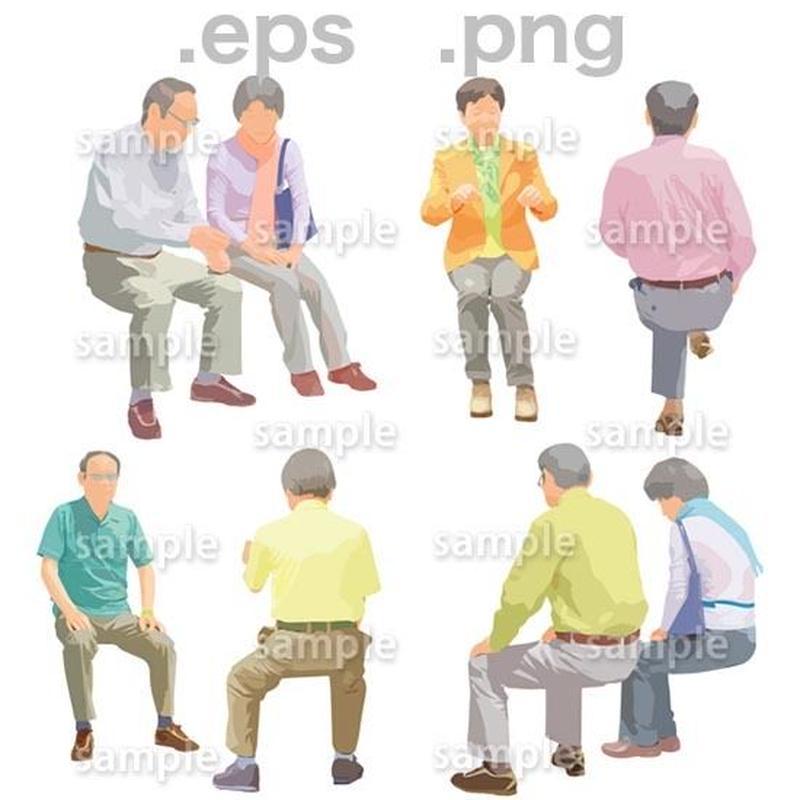 シニアイラスト (EPS , PNG )   se_162