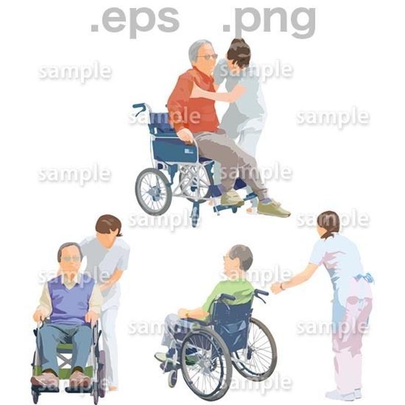 シニアイラスト (EPS , PNG )   se_220