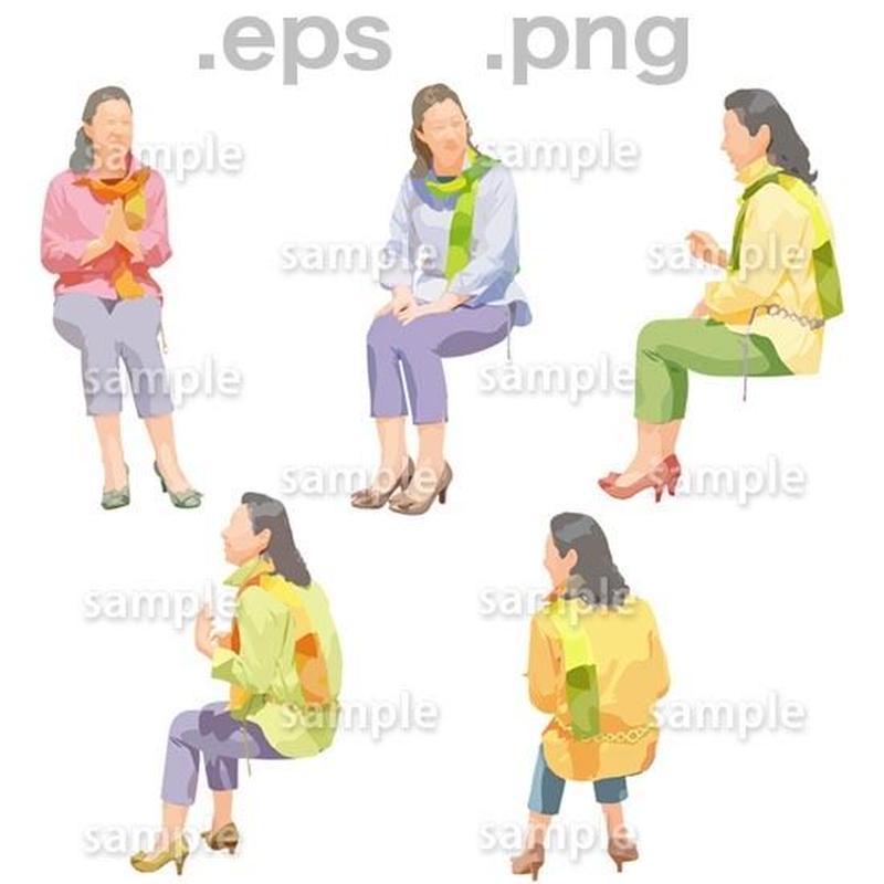 シニアイラスト (EPS , PNG )   se_167