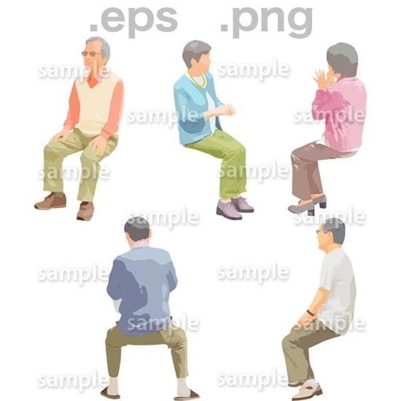 シニアイラスト (EPS , PNG )   se_173